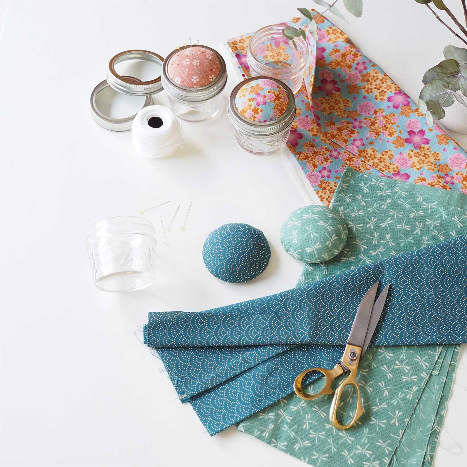 pique aiguilles tissu japonais boutique melimelo