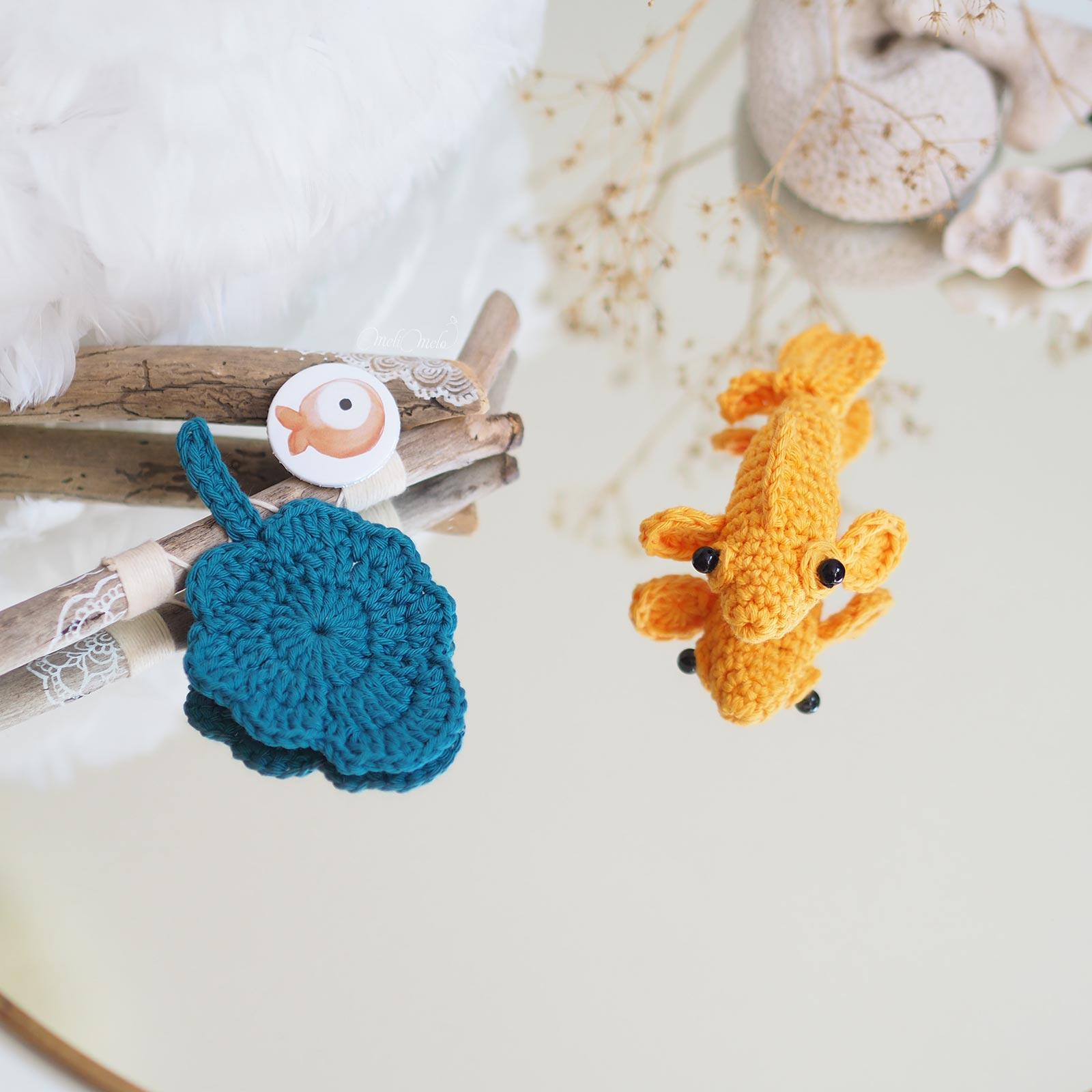 poisson voile de chine combattant crochet amigurumi thalicreations laboutiquedemelimelo