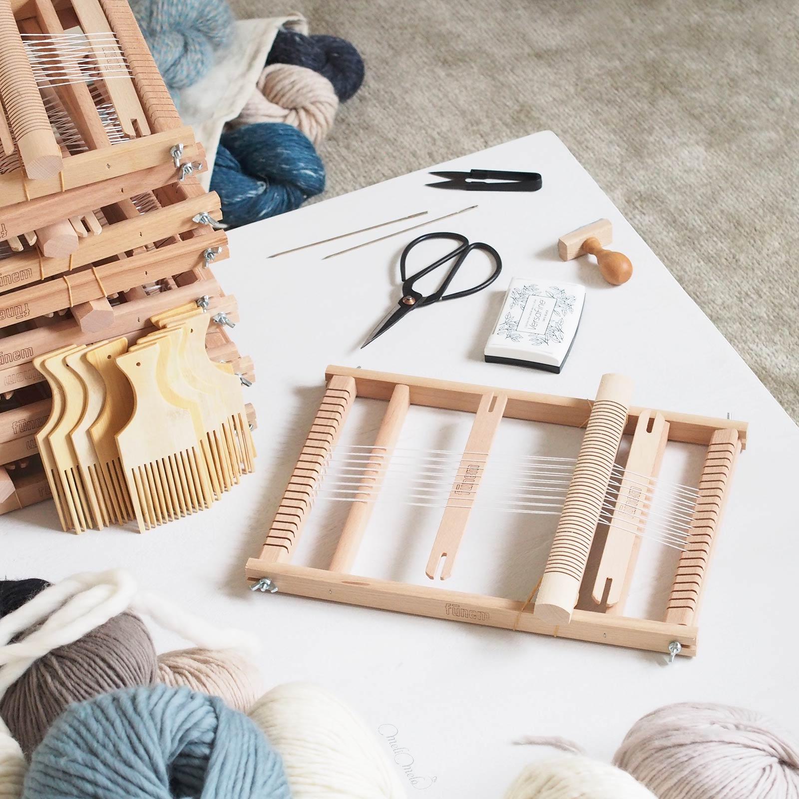 préparation ateliers tissage laboutiquedemelimelo