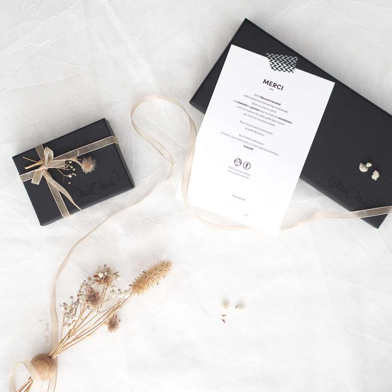 écrins présentation bijoux ivoire laboutiquedemelimelo