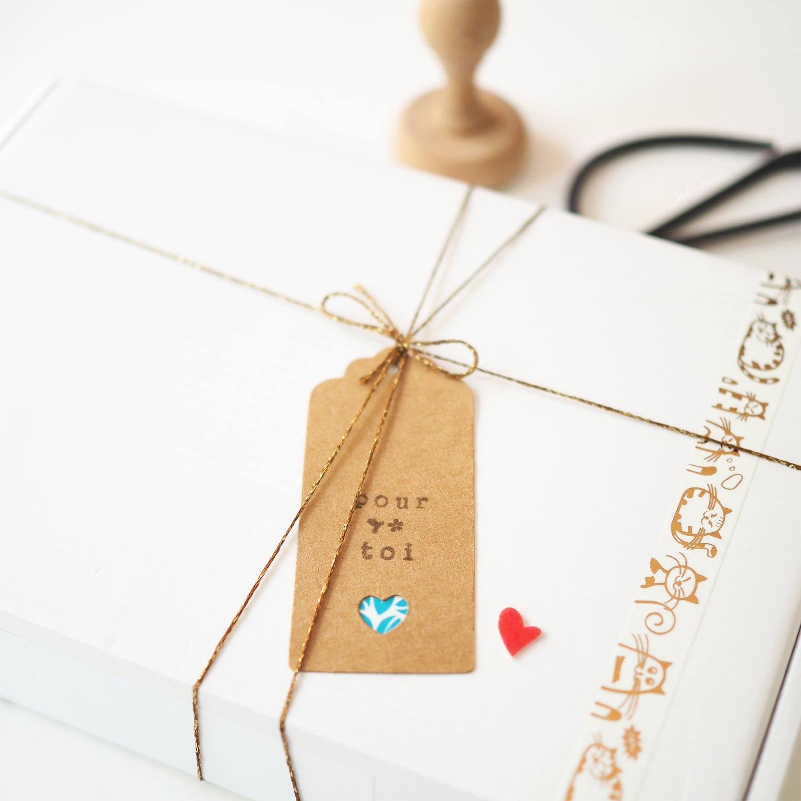 présentation cadeau anniversaire laboutiquedemelimelo