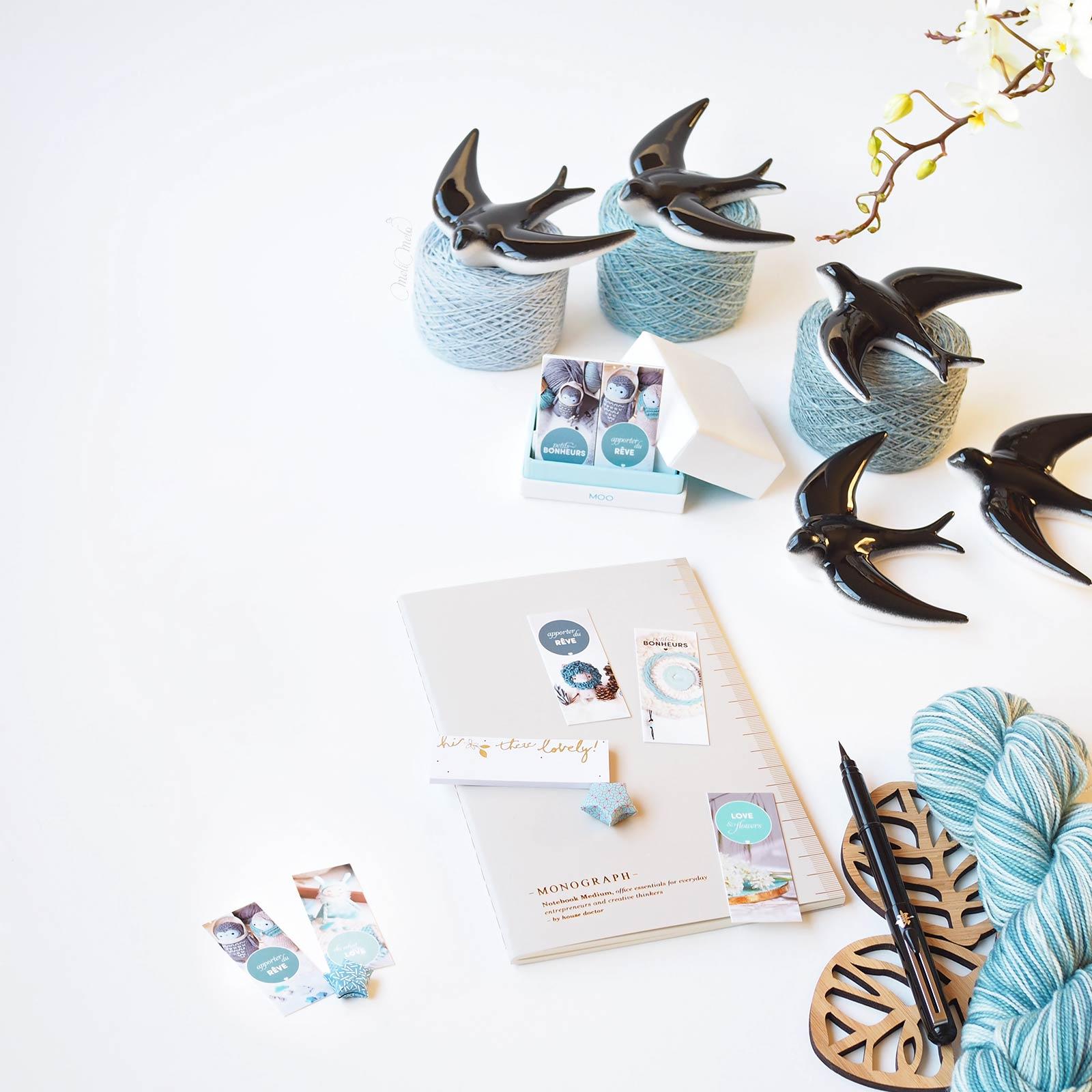 printemps hirondelles porcelaine meliméliméloter atelier laboutiquedemelimelo