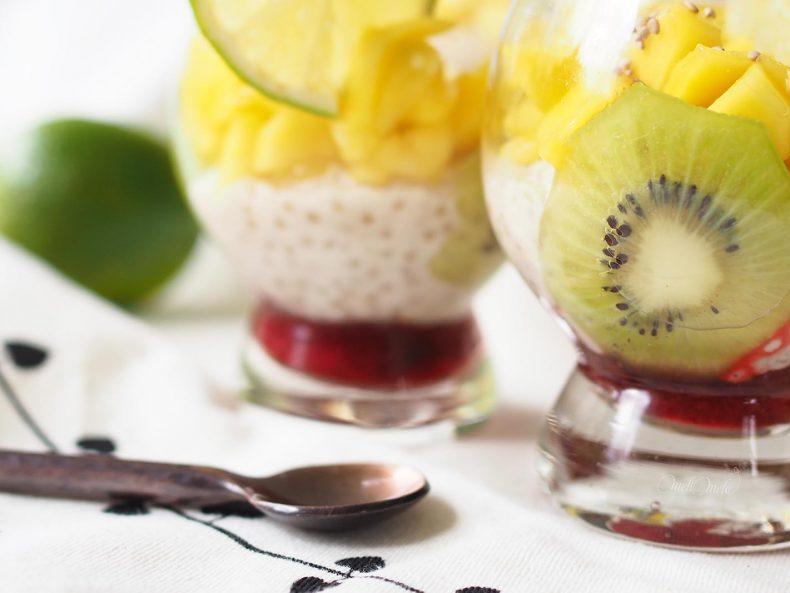 recette-dessert-tapioca-coco-kiwi-fruits-rouges-laboutiquedemelimelo