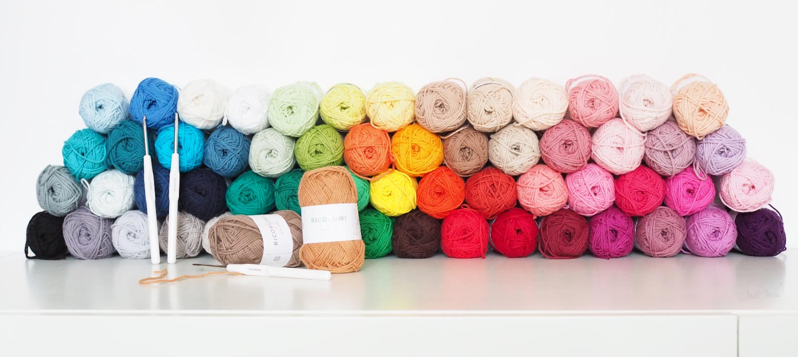 Ricorumi cotton colorful yarn Ricodesign laboutiquedemelimelo