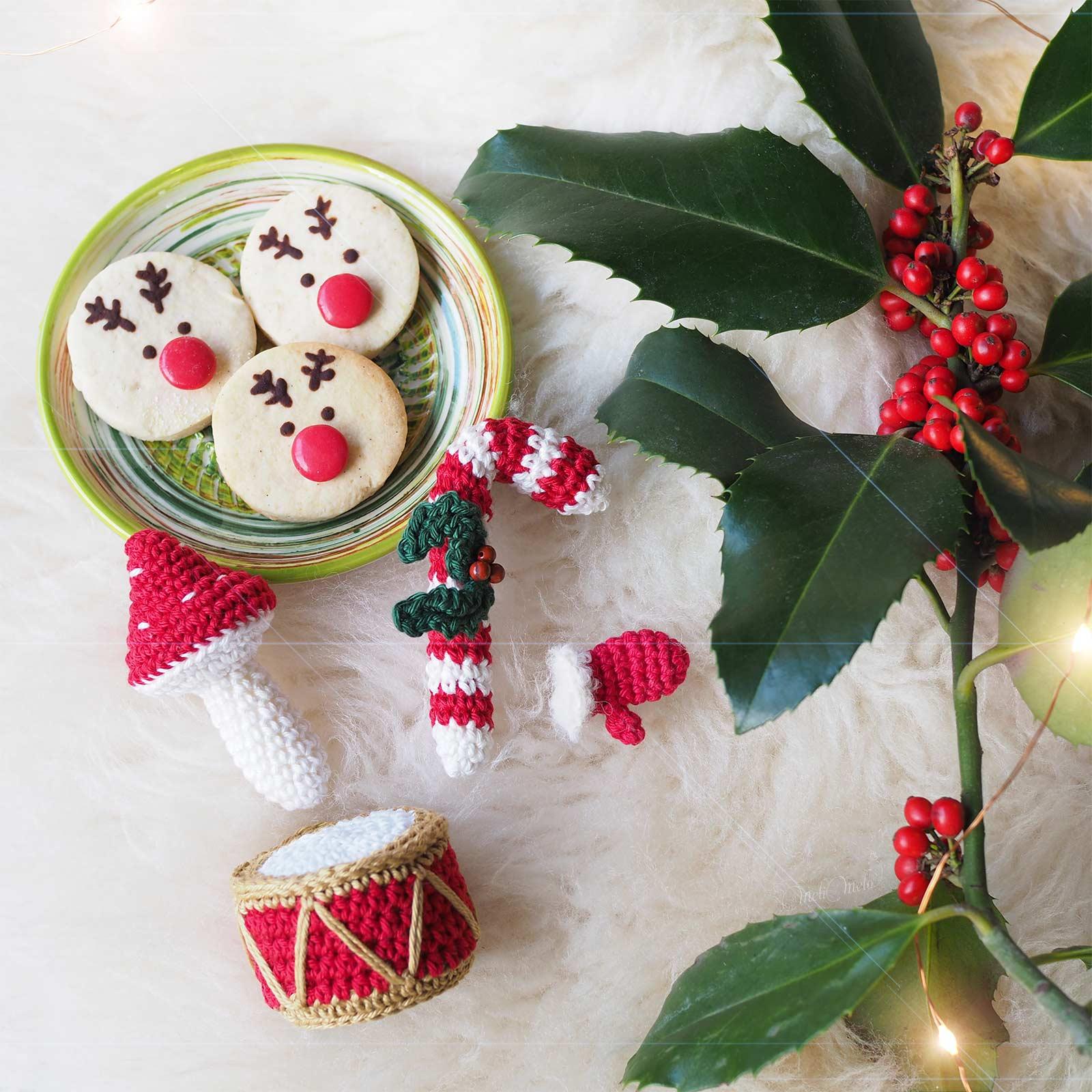 rudolph biscuits sablés noel Julie et ses folies boutique melimelo