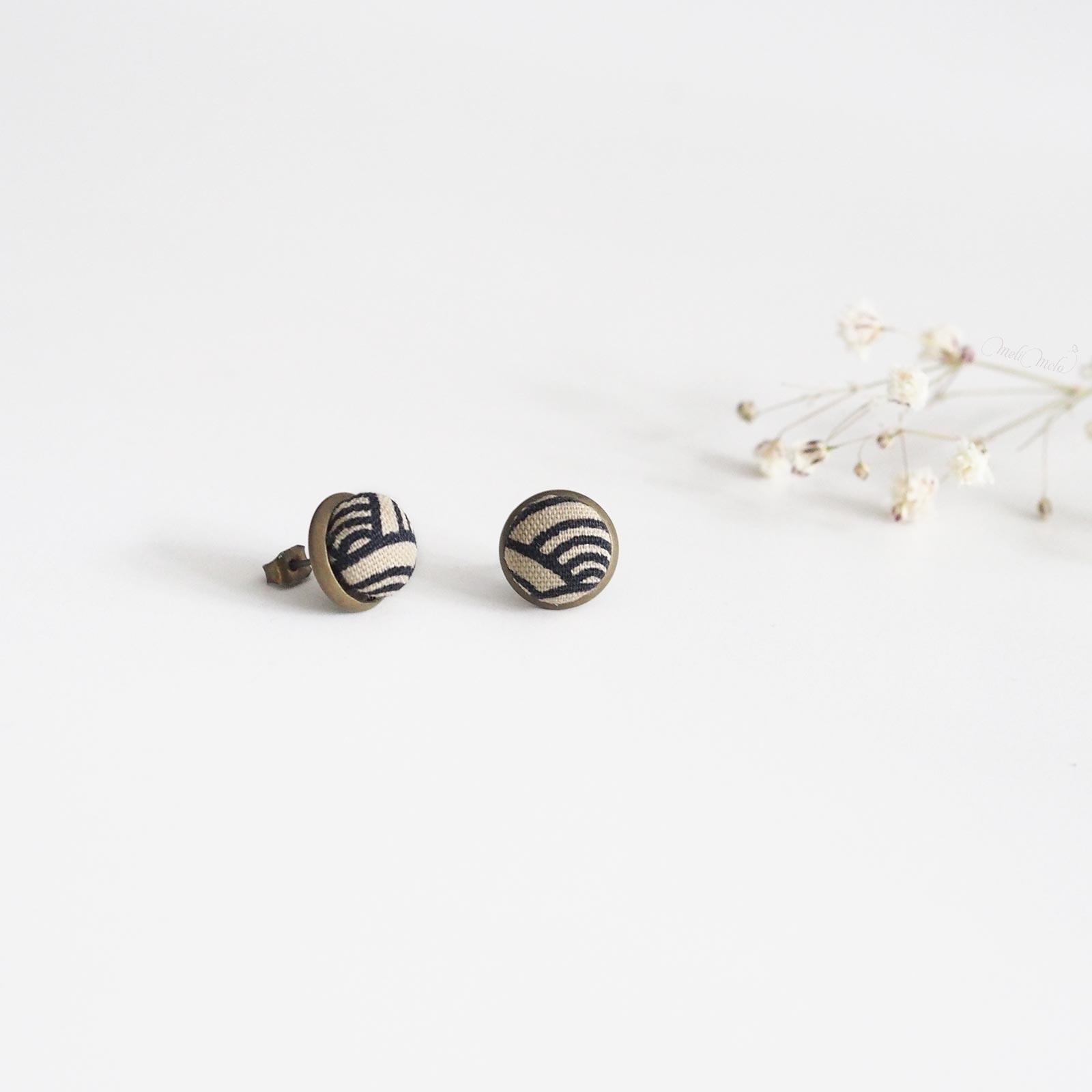 puces oreilles seikaiha ivory ondes tissu japonais laboutiquedemelimelo