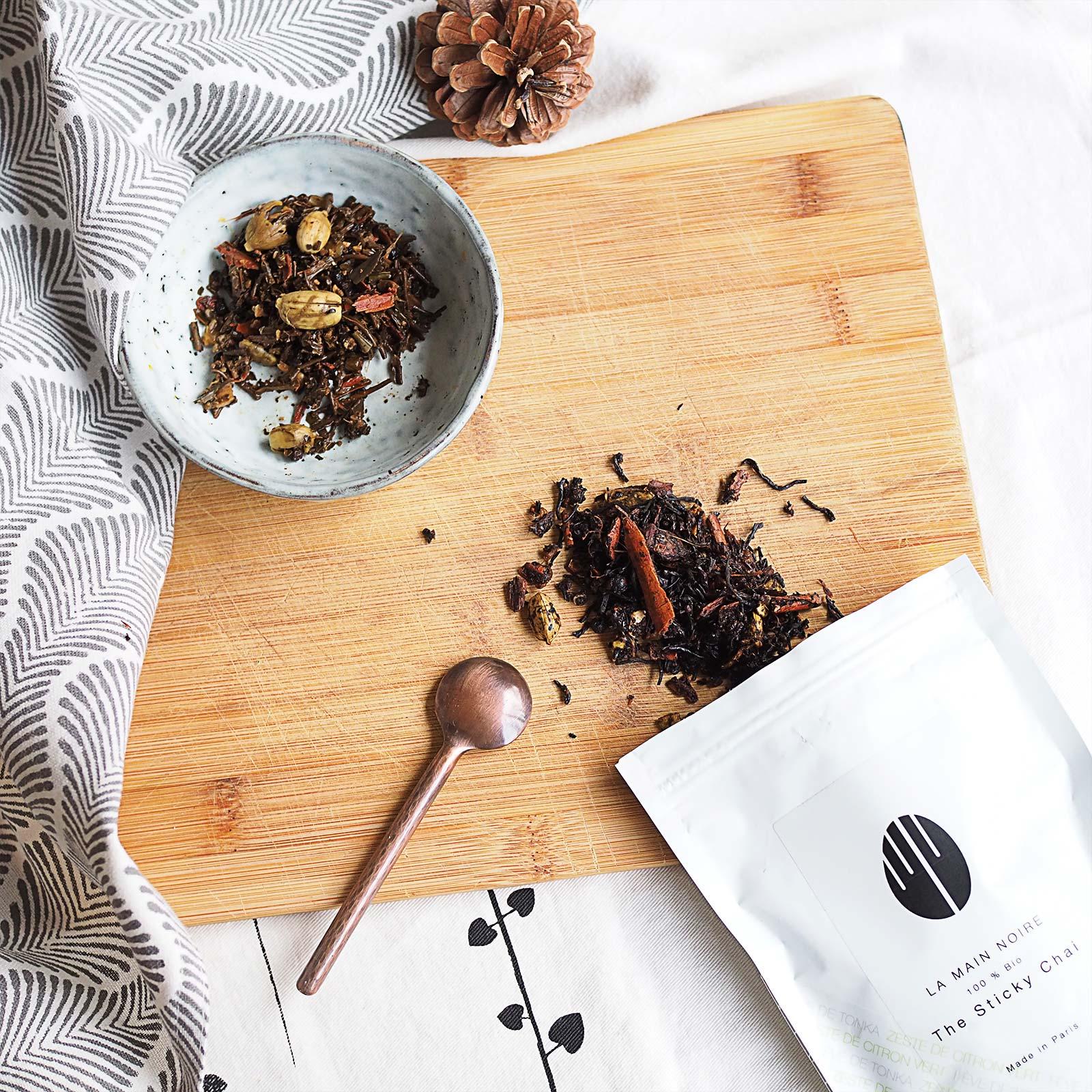 sticky chaï original la main noire paris thé noir épices laboutiquedemelimelo