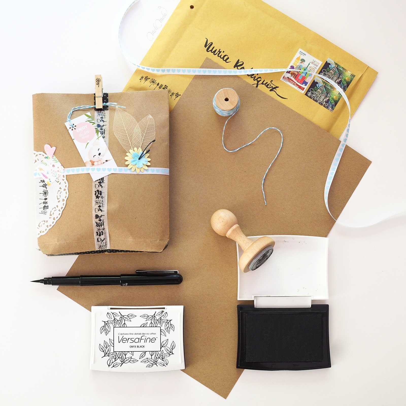 préparation courrier swap snail mail chris bravo my little hannah laboutiquedemelimelo