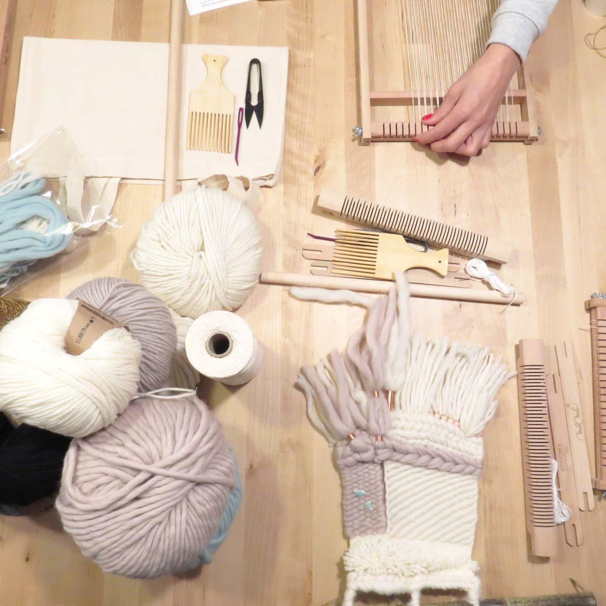 ateliers tissage wip laboutiquedemelimelo mimarinita valladolid