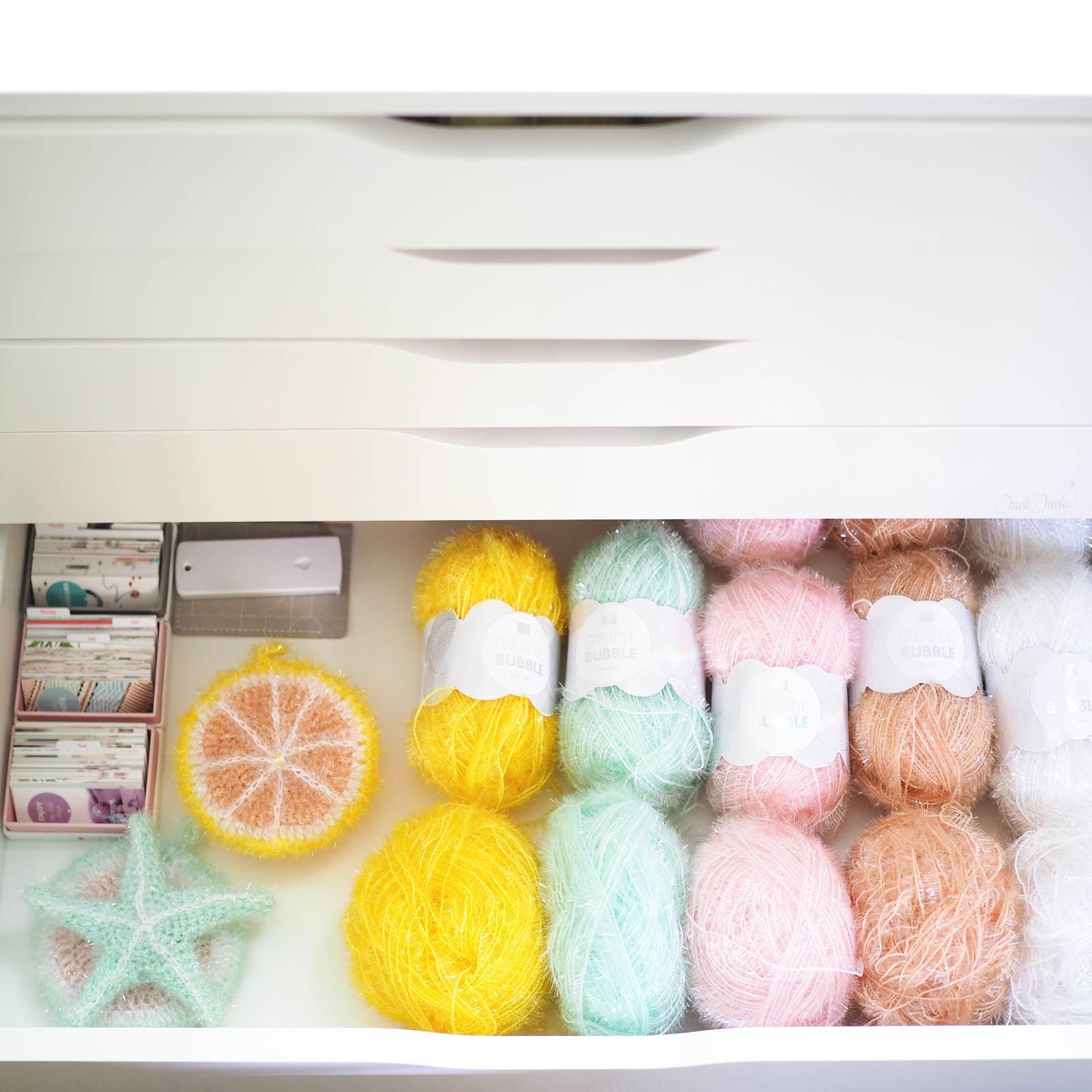 tawashi scrub crochet fil yarn Creative Bubble Ricodesign laboutiquedemelimelo