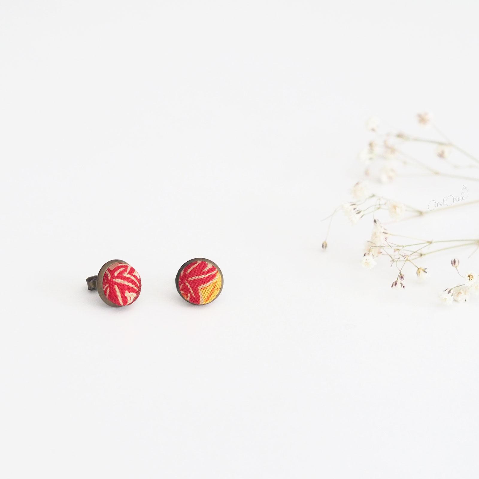 puces d'oreilles Corolle Temari japon laboutiquedemelimelo
