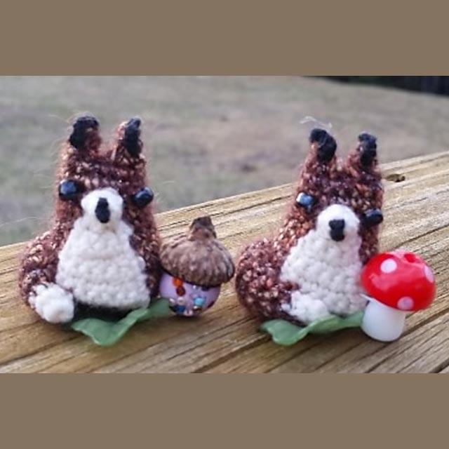 tiny renard DIY crochet