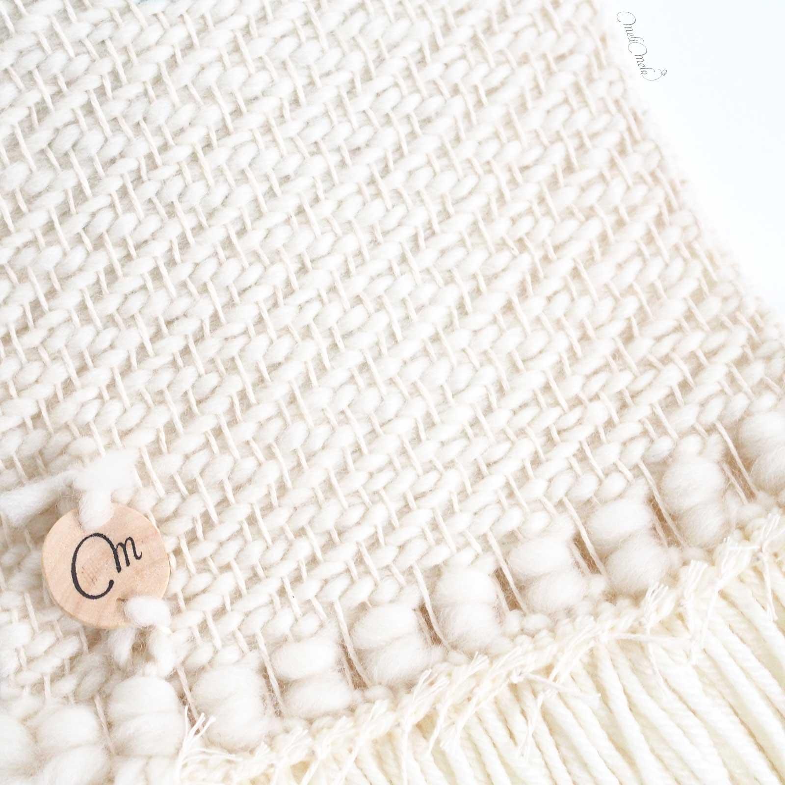 tissage mural laine détail sur l'envers laboutiquedemelimelo