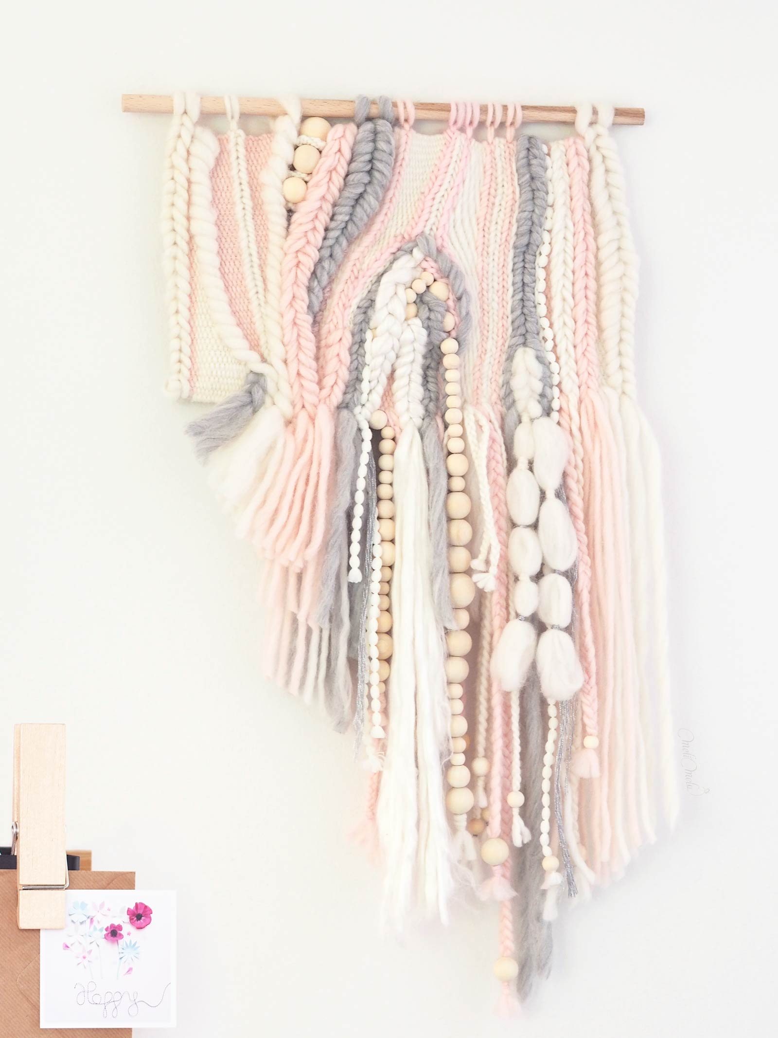 tissage laine sweetpoom creations decoratives mural homeware hand weaving laboutiquedemelimelo