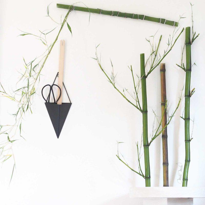 tissage support bambou semiarundinaria fastuosa arcana luteosulcata laboutiquedemelimelo
