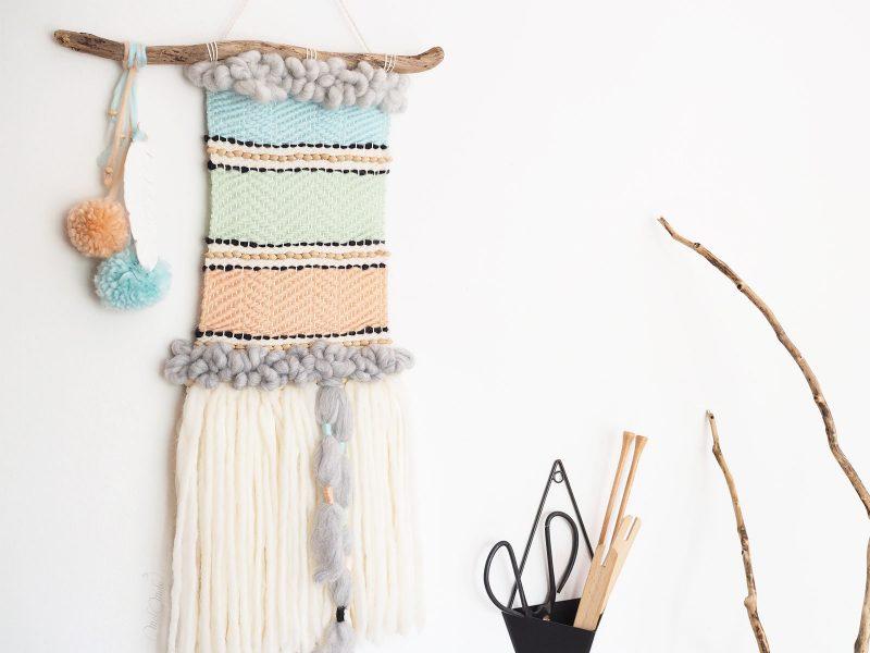 tissage tipi indien serial crocheteuses 431 géométrie We Are Knitters laboutiquedemelimelo