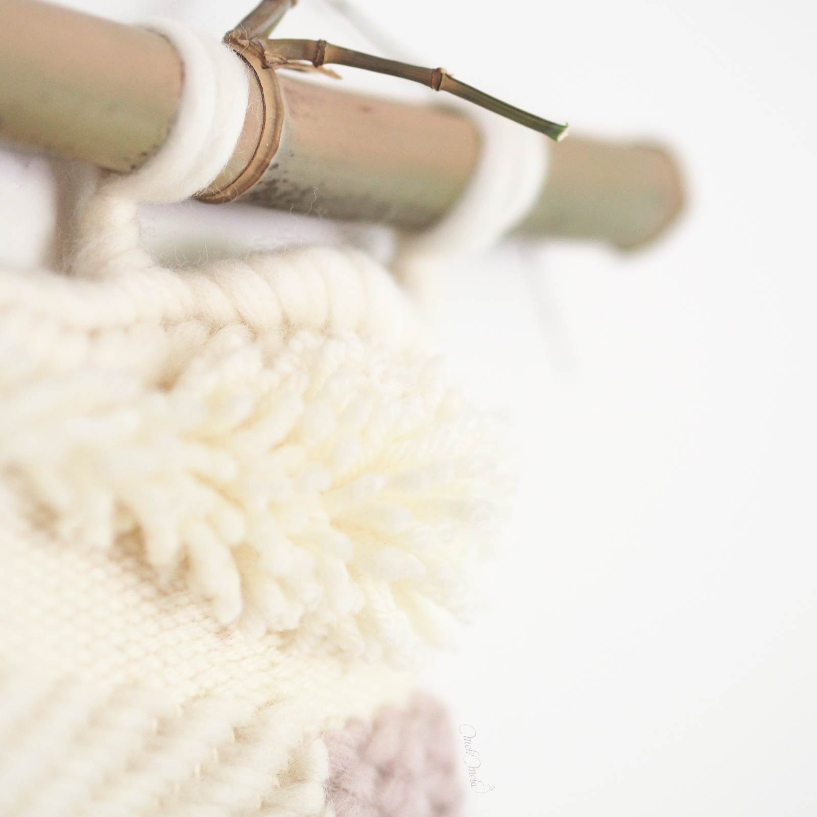 tissage laine cuivre bambou laboutiquedemelimelo