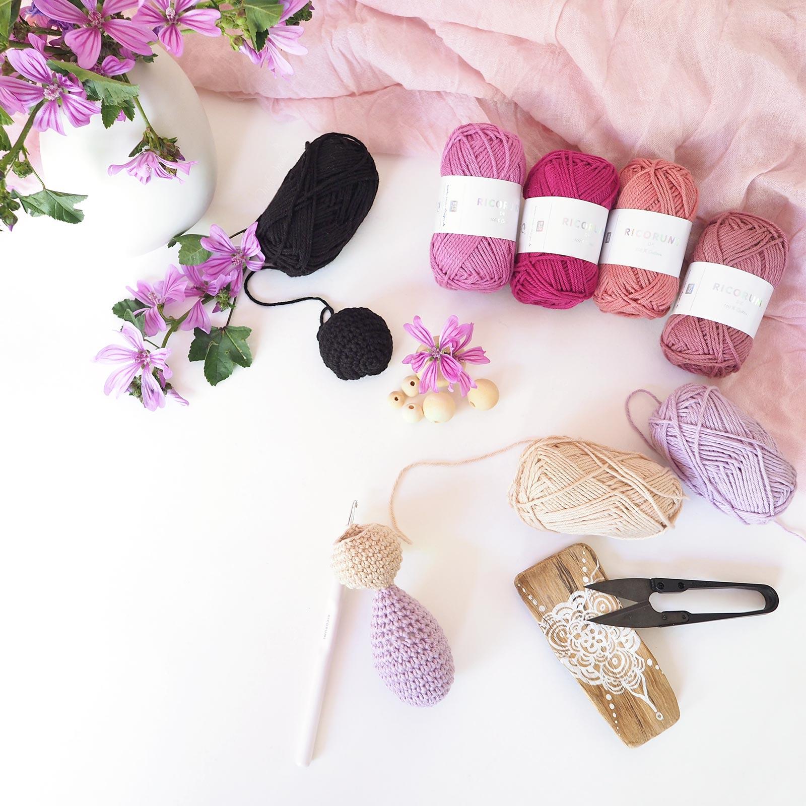 tutoriel DIY wip poupée japonaise lespoisplumes Ricorumi Ricodesign laboutiquedemelimelo