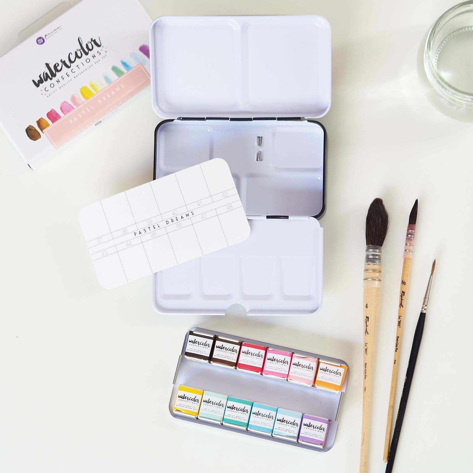 unboxing aquarelle pastel dreams confections prima boutique MeliMelo
