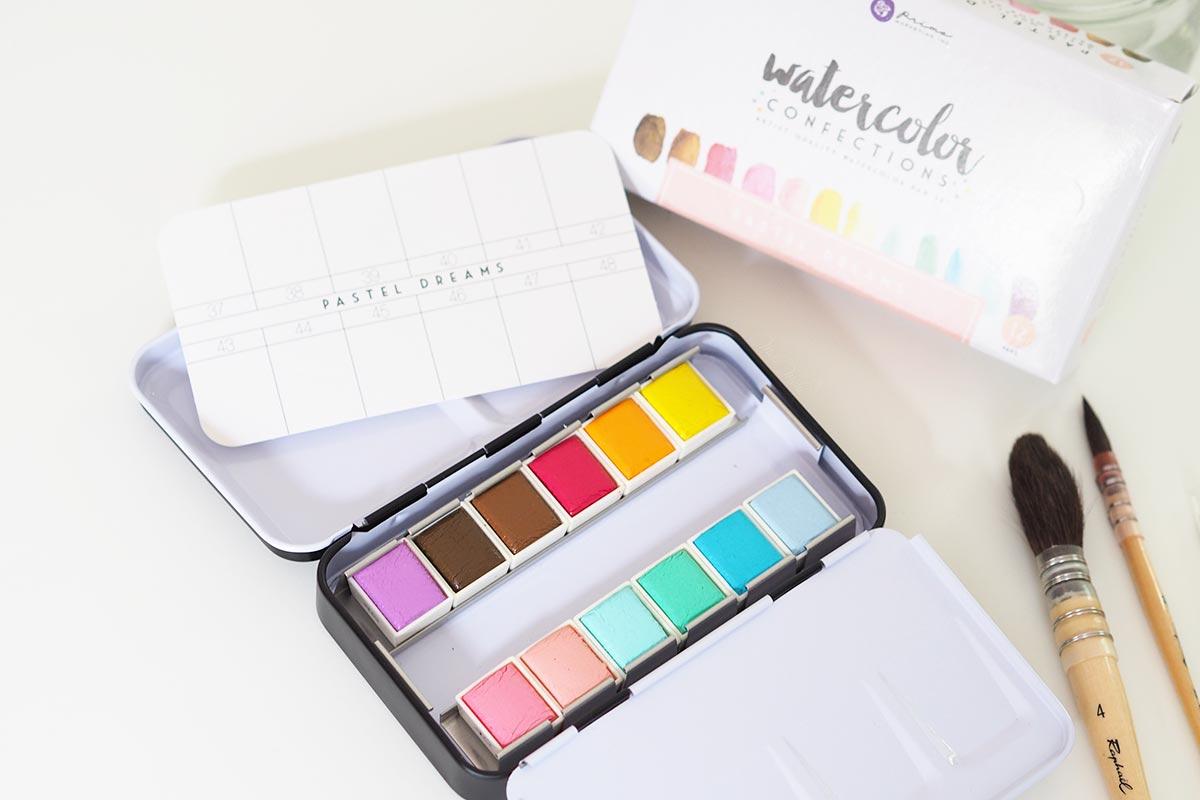 aquarelle watercolor pastel dreams confections prima boutique MeliMelo