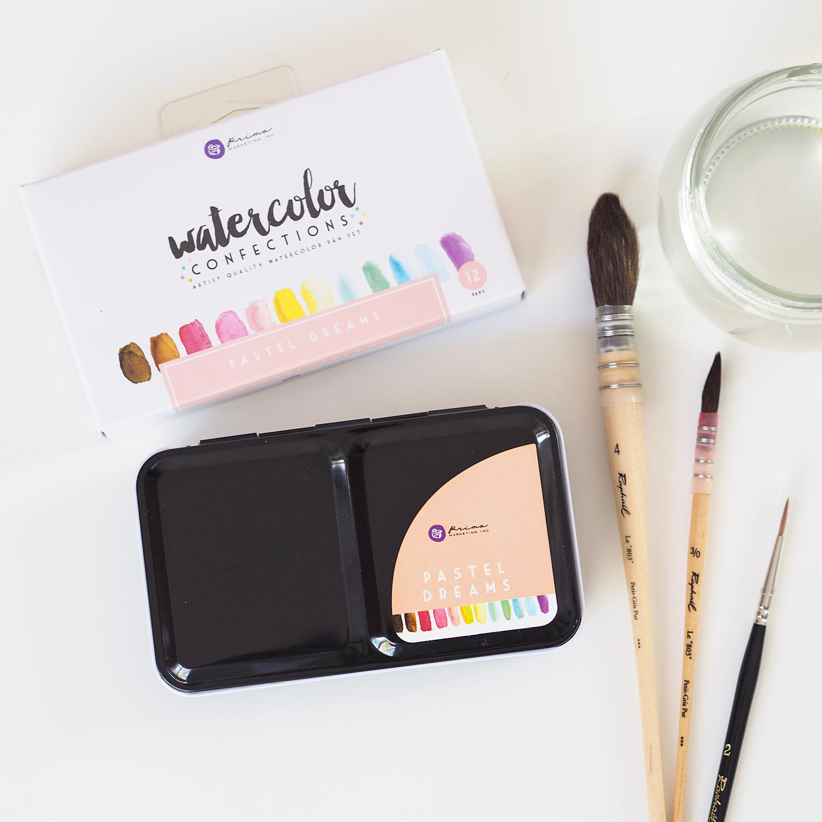 watercolor pastel dreams confections prima